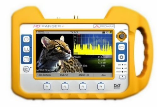 Medidor de campo Promax HD Ranger+